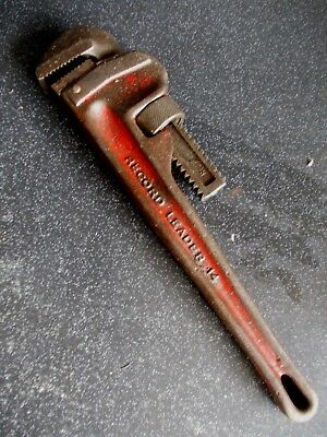 Record Leader , Stilsons / Pipe Wrench 14