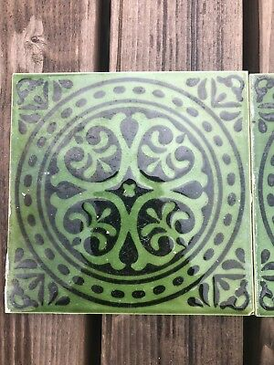 Retro H& R Johnson Tiles. Rare Colour