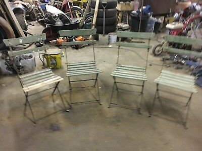 French Garden Chairs