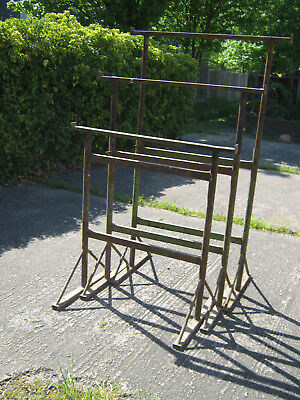 3 No. Builders Trestles Used adjustable from 1100 to 1720mm