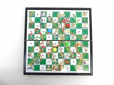 Large Magnetic Snakes Ladders Traditional Board Game Gift Children 33 cm
