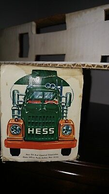 1968 Hess Tanker Truck Perth Amboy INSERTS ONLY Rare Marx Antique Toy