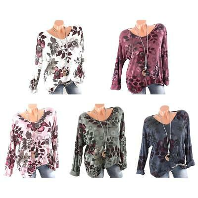 Basic Long Sleeve Solid Top Women's Print Plain Round Neck T Shirt Stretch Tight