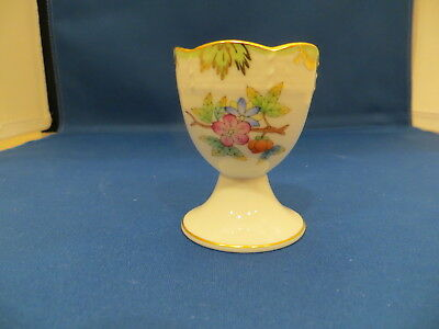 Herend-Hungary Queen Victoria pattern EGG Cup Hand Painted