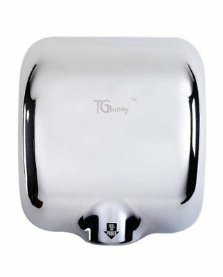 Commercial Automatic Electric Hand Dryer Air Blower for Bathroom Stainless Steel