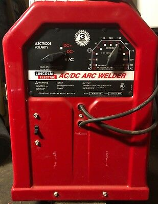 Lincoln AC/DC Tombstone Buzz Box Stick Welder 220V