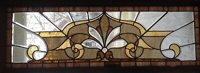 Stained, Beveled And Jeweled  Window