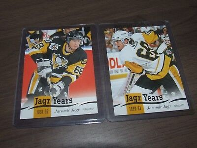 2018-19 upper deck serie 1 jagr years U-Pick From List 1-25
