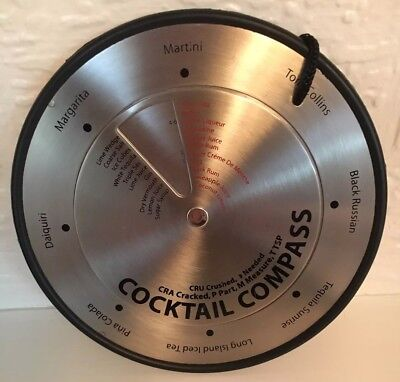 Stainless Steele Cocktail Compass Great Fun