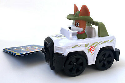 Paw Patrol Tracker Jungle Pup Rescue Racer - Nickelodeon toy mini vehicle