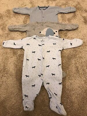 Next Baby Boys Newborn sleepsuits
