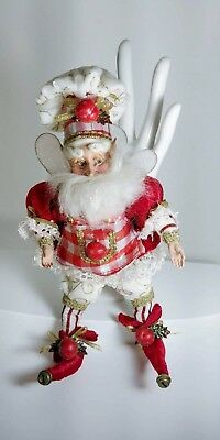 Mark Roberts Collection Small Baker Fairy Elf ~ Christmas Holiday