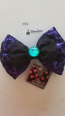 Disney Parks Haunted Mansion Madam Leota Interchangeable Swap Your Bow NEW ITEM