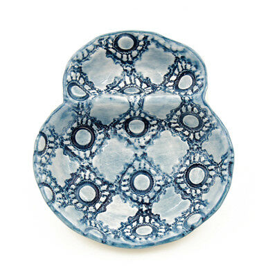 Hand-painted Traditional Portuguese Ceramic Olive Dish