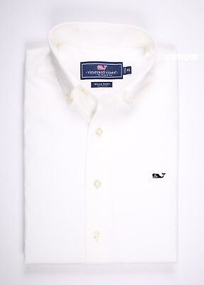 Nwt Vineyard Vines Men Ls Classic Fit Whale Shirt Xs S M L Xl 2Xl Msrp $98.50