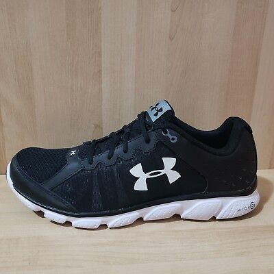 UNDER ARMOUR MICRO G Assert 6 Mens Sz 15 Athletic Shoes UA 1266224-001  Running -  34.99  3e7f5ed4ead3