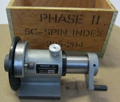 5C Spin Index Fixture Phase II model 225-204 - Never Used