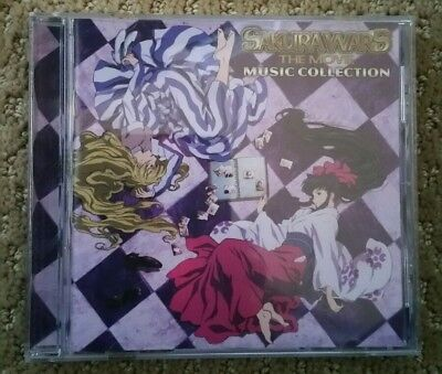 Sakura Wars - the movie music collection CD from classic anime. Great condition!