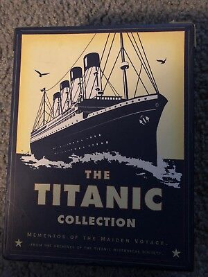 Titanic Collection Mementos Of The Maiden Voyage - 1998