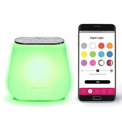Alexa Enabled Smart Sound Soother with Multi-Color Night Light for Children
