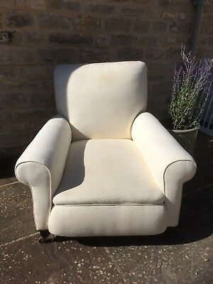Antique Victorian Howard Country House Style Armchair