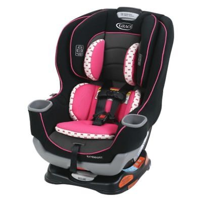 Graco Extend2Fit Convertible Car Seat in Kenzie