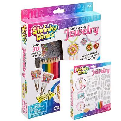 Shrinky Dinks Jewelry Making Kit Craft kits For Kids Girls Toys Butterfly New