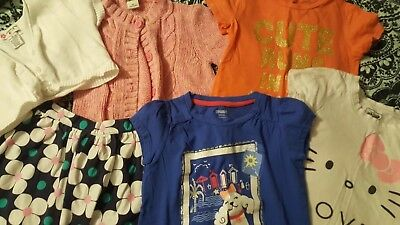 Girls Size 5-6 Lot Of 6 Pre Owned
