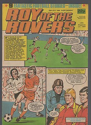 (-0-) Roy Of The Rovers Comic 28Th July 1984 Transformers  Advert Figures