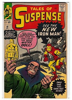 Tales of Suspense #48 (1st appearance of Iron Man's Red & Gold Armor)