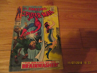 Marvel Amazing Spiderman #59 G-VG 1968 IST Mary Jane Cover
