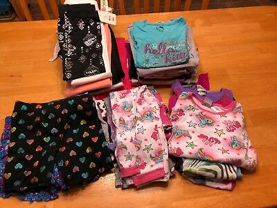 Huge Lot Of 40+ Mixed Girls Clothing Items Size 6-8 Good Condition! Some New.