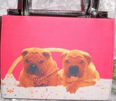 Sharpei Box Style Handbag