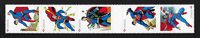 Canada Stamps — Strip of 5 — 2013, Superman, 75th anniversary #2683i — MNH