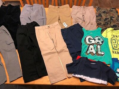 13 Mixed Lot of Boys Clothing Size 4t-5t Good Condition Smoke Free Pet Free Home