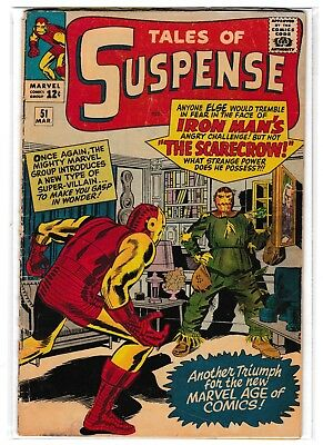 Tales of Suspense #51 (1st appearance of Scarecrow)