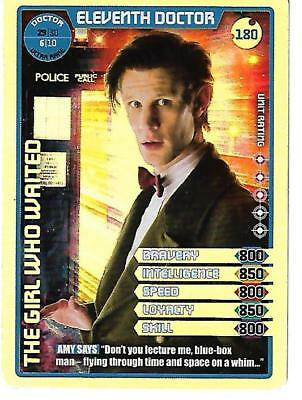 Dr Who Monster Invasion Extreme 6_6 Ultra Rare Card 180 Eleventh Doctor