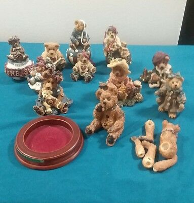 Thirteen Boyds Bears And Friends Figurines And Ornaments