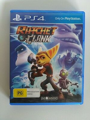 Ps4 - Ratchet And Clank With Original Box - Aussie Retail Version 😃