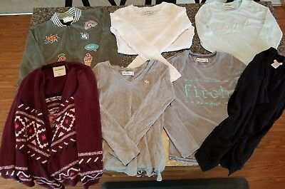 7 piece lot of Fall/Winter gear- Amercrombie, Joe Fresh, Btween- size S/M