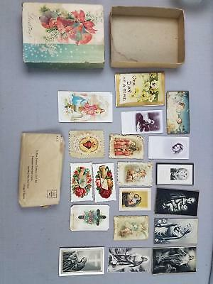 Lot Vtg to Antique Funeral Cards 1877 Silver Jubilee 1903 Newport RI 1943 Oliver