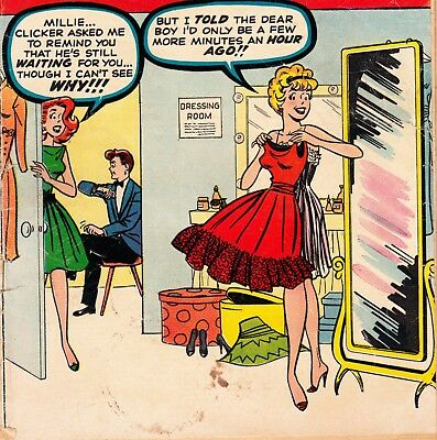 Life With Millie #8 Marvel Comics Book Stan Lee Scripts: Chili Appearance (1960)