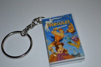 Disney Hercules Vhs Mystery Keychain Oh My Disney Opens To Show Tape Inside