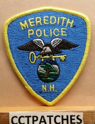 Meredith, New Hampshire Police Shoulder Patch Nh