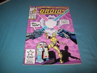 Droids 8 Low Print Run Last Issue Star Wars Movie Hard To Find Marvel