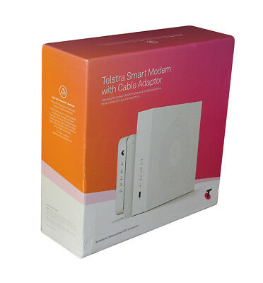 Telstra Smart Modem with Cable Adapter DJA0230