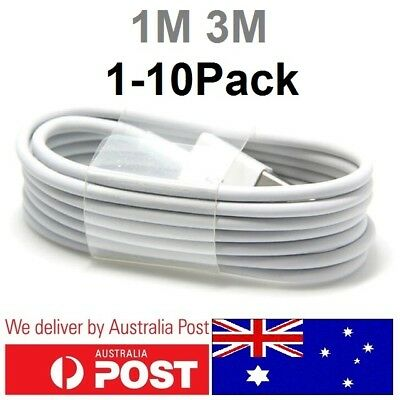 1M 3M USB Data Sync Cable Cord Lightning Charger for iPhone X 8 7 7Plus 6 5 iPad