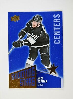 2018-19 Upper Deck UD Series 1 Shooting Stars Centers #SSC-6 Anze Kopitar