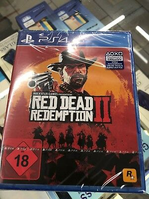 RED DEAD REDEMPTION II 2  PS4 / Playstation 4 *** SOFORT LIEFERBAR ***