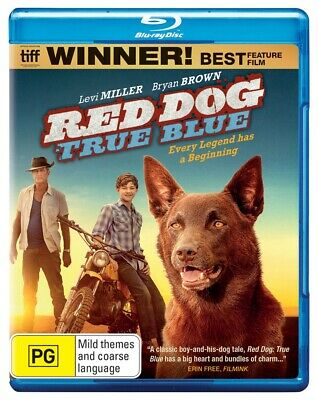 Red Dog: True Blue  Blu-Ray Region B